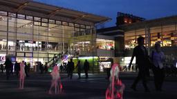 Manufaktura, Lodz, Poland. Large shopping center Footage