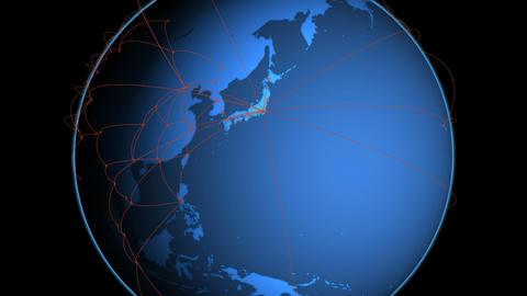Global Network Tokyo4 Animation