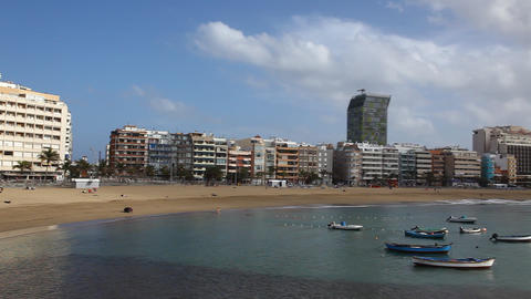 Beach of the Canteras Live Action
