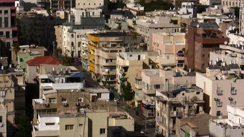 Tel Aviv Skyline aerial Footage