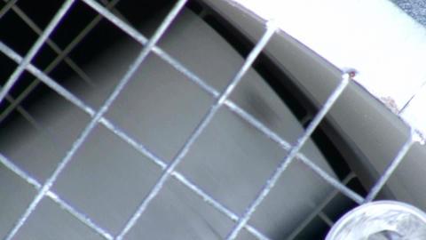 Industrial Fan stock footage