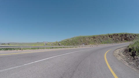 Driving plates to the Golan Heights Footage