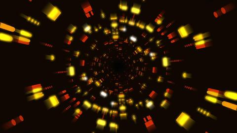 Futuristic Light Tunnel Flight 4 Animation