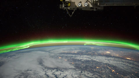 borealiscan iss 20120204 High Res 1 HD Footage