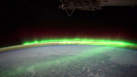 borealiscan iss 20120204 High Res 2 HD Footage