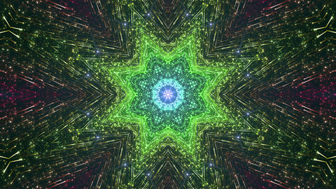 Space Stars radiant kaleidoscope B 6raf 4k Animation