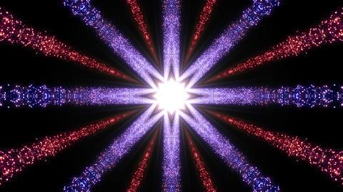 Space Stars radiant kaleidoscope BE 6 4k Animation