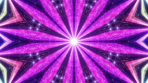 Space Stars radiant kaleidoscope BE 7raf 4k Animation
