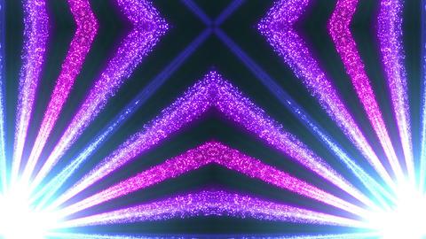 Space Stars radiant kaleidoscope BG 2raf 4k Animation