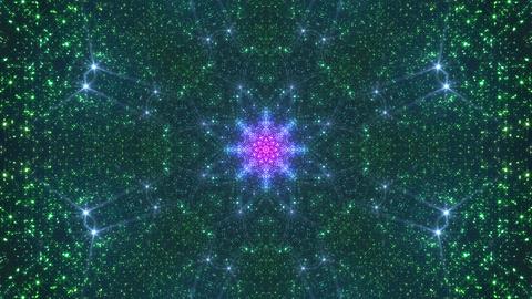 Space Stars radiant kaleidoscope C 6raf 4k Animation