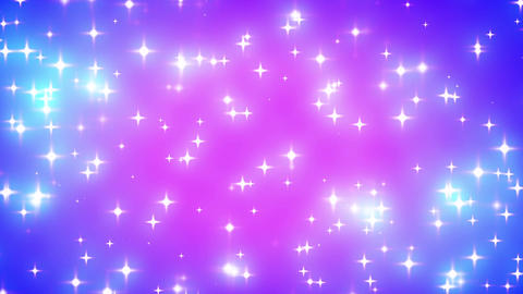Pink Nebula Looping Glowing Stars Background 1 Fas Stock Video Footage