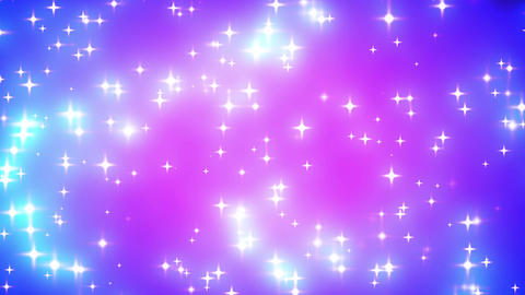 Pink Nebula Looping Glowing Stars Background 1 Fas stock footage