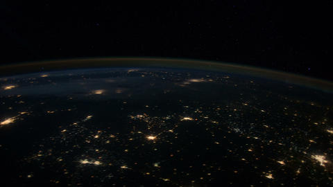 centplains iss 20120130 High Res HD Stock Video Footage