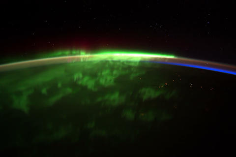 dakotaquebec iss 20120126 High Res 4k Stock Video Footage