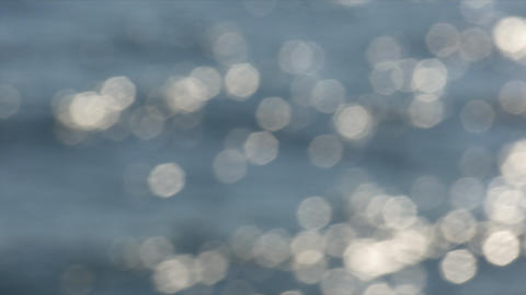Water Bokeh Effects stock footage