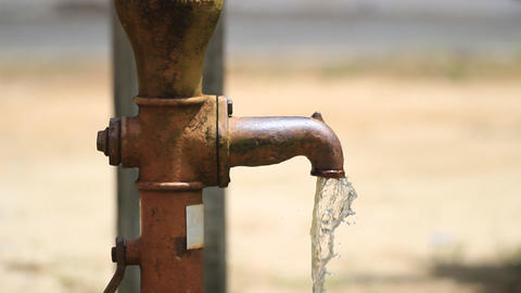 dirty groundwater Stock Video Footage