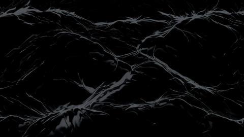Black liquid matter. (loop-ready file) Animation