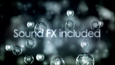 Raindrop Titles stock footage
