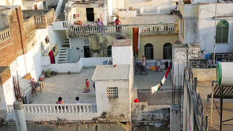 UDAIPUR, INDIA - APRIL, 2013: Everyday scene Footage