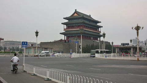 BEIJING, CHINA - JUNE 2013: View of Tiananmen Squa Footage