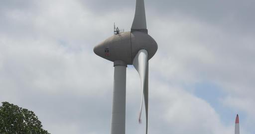 Wind Turbine Close Filmmaterial