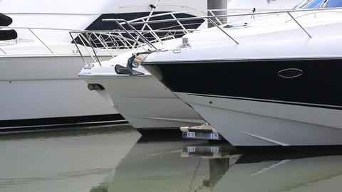 Luxury super yachts Footage