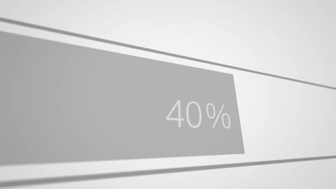 Preloaders And Progress Loading Bars stock footage