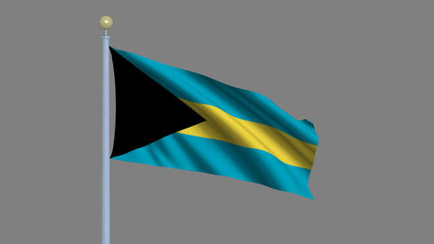 Flag of the Bahamas Animation
