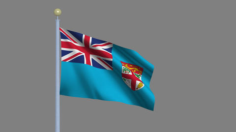 Flag of Fiji Animation
