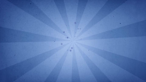 blue sun rays Animation