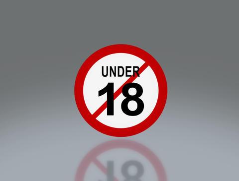 Under 18 Age 1