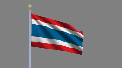 Flag of Thailand Animation