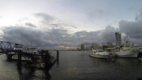 Manila bay timelapse Footage