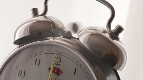 Alarm Clock And Sound stock footage