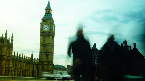 Time lapse in London city Footage