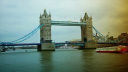 Time lapse in London city Stock Video Footage