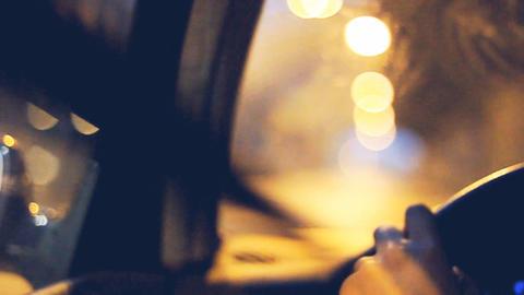 Car driving on european highways Footage