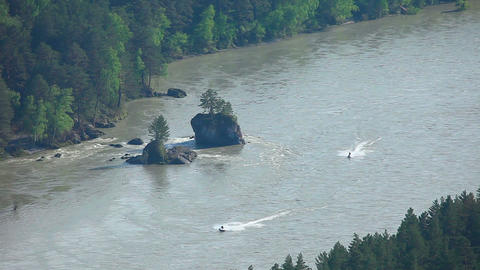 Katun river Footage