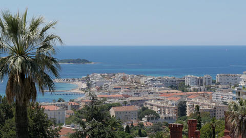 French riviera, cannes, seascape Stock Video Footage
