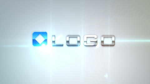 Glamorous Logo Build Animation After Effects Template