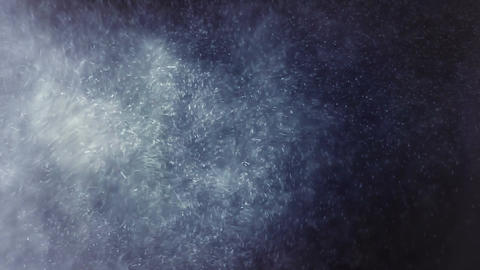 Busy dust particles Stock Video Footage