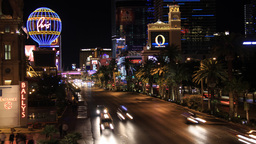 Las Vegas 2 Strip Time-Lapse stock footage