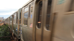 Chicago L Train Footage