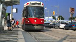 Toronto Streetcars St. Clair Time-Lapse Footage