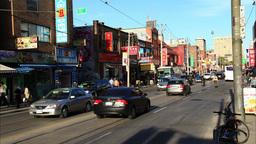 Chinatown Toronto Timelapse 3 Footage