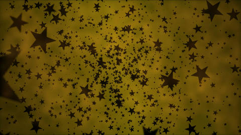 Black Star Particles - Loop 4K Stock Video Footage