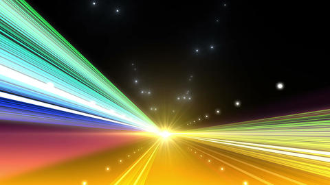 Light Streak Highway F 1 Ba 4 4k stock footage
