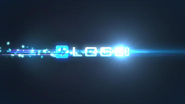 Glow Particles Titles and Logo Intro After Effects Template