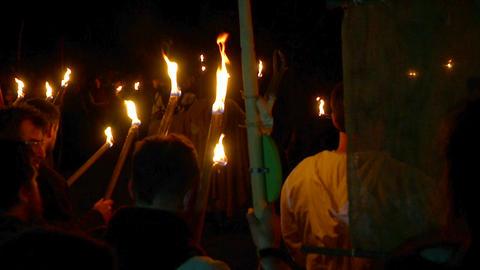 Beltane festival people 04 Footage