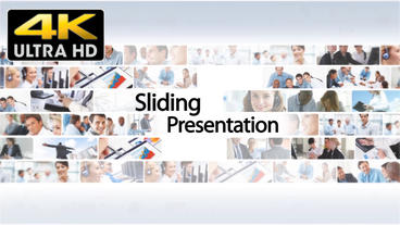Sliding Presentation 4k - After Effects Template After Effects Project